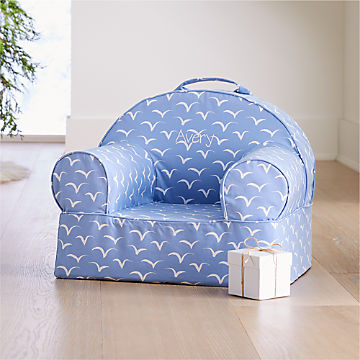 Sensational Personalized Kids Armchairs The Nod Chair Crate And Barrel Unemploymentrelief Wooden Chair Designs For Living Room Unemploymentrelieforg