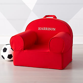 Beau Large Red Nod Chair