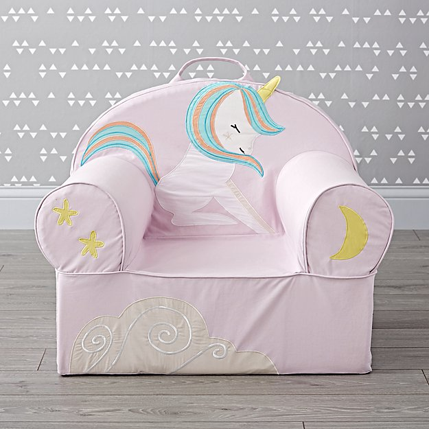 Large Unicorn Nod Chair Reviews Crate And Barrel