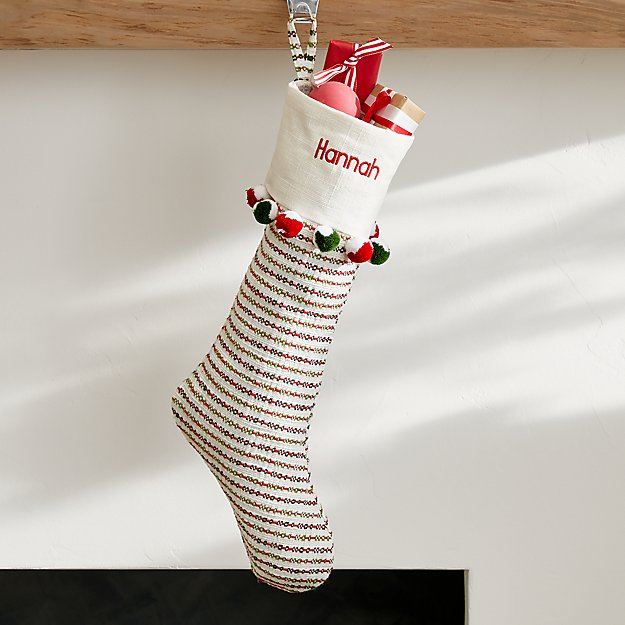 Noella Striped Stocking - Image 1 of 7