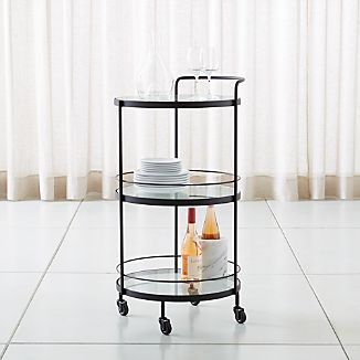 Rolling Storage Cart Crate And Barrel