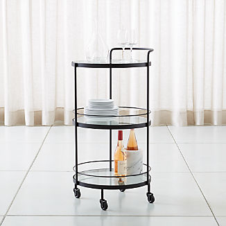 Rolling Storage Cart | Crate and Barrel
