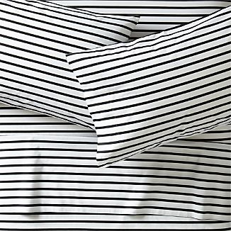 Striped Sheets Crate And Barrel