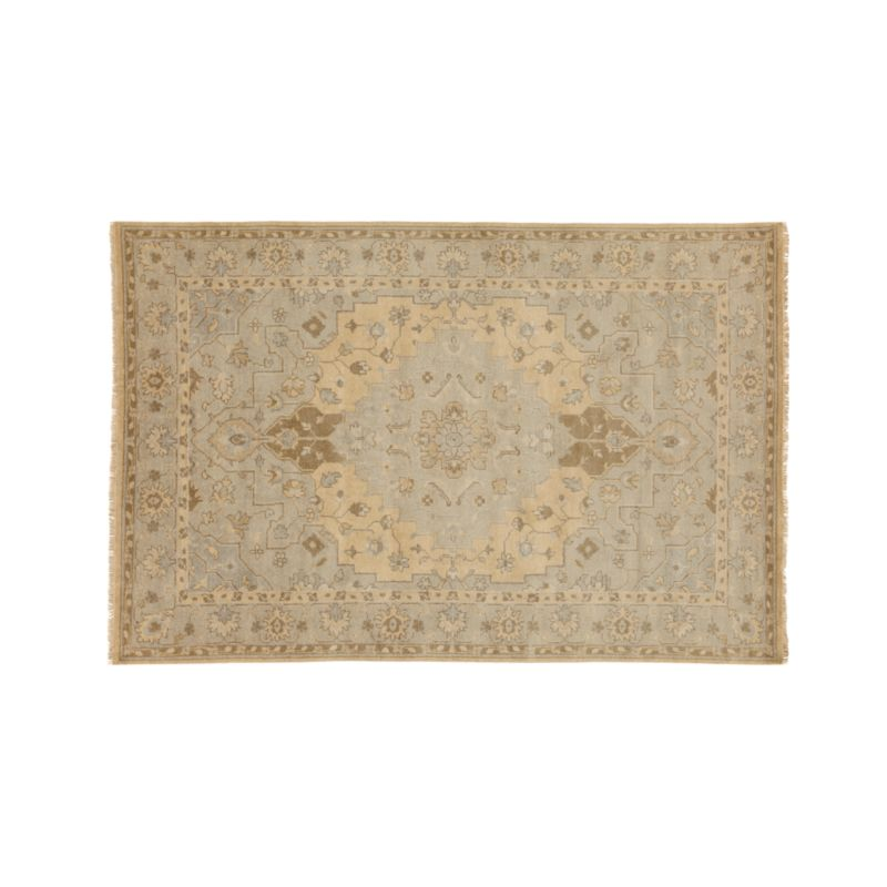 Nola 6x9 Beige Persian Rug In Area Rugs Reviews Crate