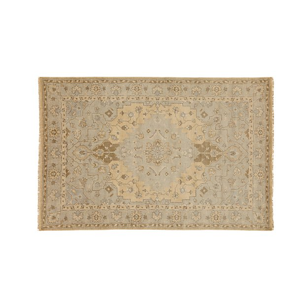 Nola Neutral Wool Rug 6'x9' - Image 1 of 4