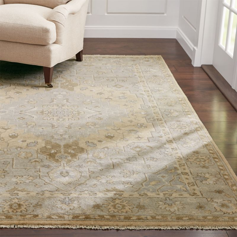 Nola Neutral Wool Rug