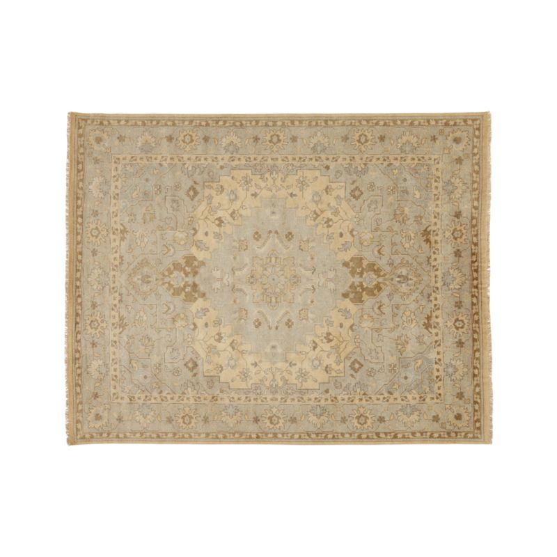 Nola 8x10 Beige Persian Rug In Area Rugs Reviews Crate