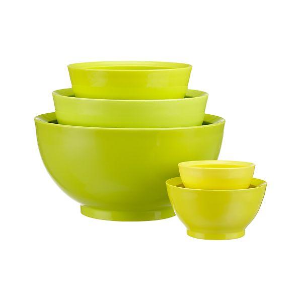5-Piece Calibowl ® Nonslip Nesting Mixing Bowl Set