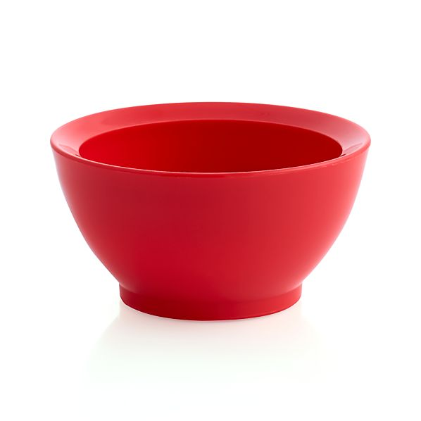 Calibowl ® Nonslip Red Prep Bowl