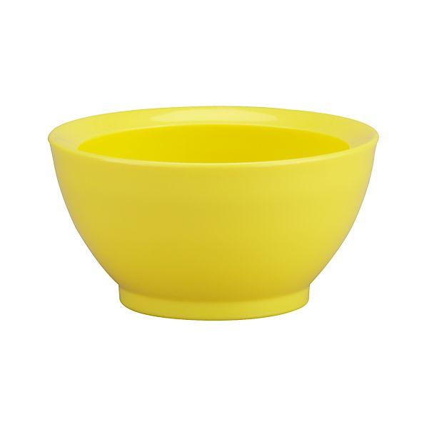 Calibowl ® Nonslip Yellow Prep Bowl