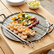 Set of 12 Non-Stick Barbecue Skewers
