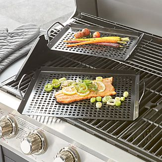 Non-Stick Grill Grids Set of Two