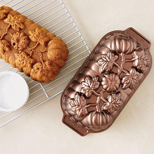 Nordic Ware Pumpkin Patch Loaf Pan