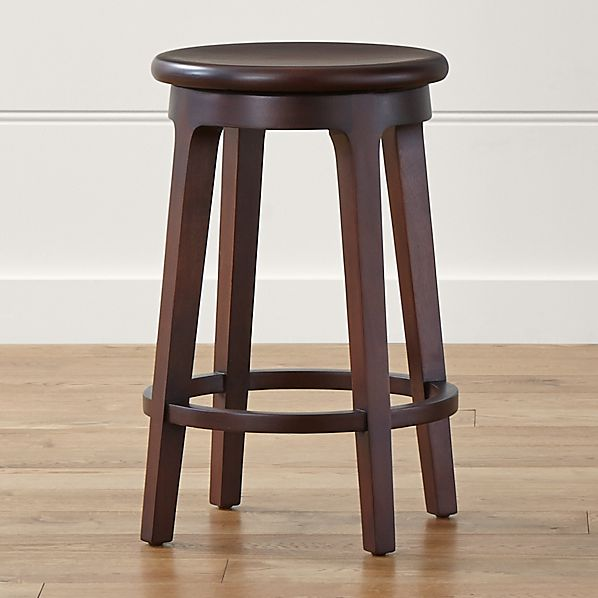 Nora Swivel Backless Counter Stool