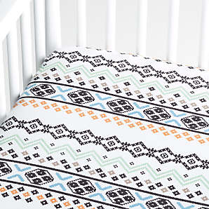 Flannel Crib Sheets Crate And Barrel