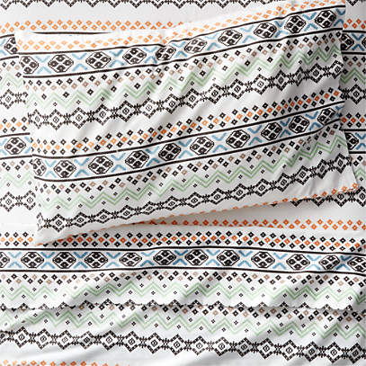 Organic Nordic Flannel Sheet Set Crate And Barrel Canada