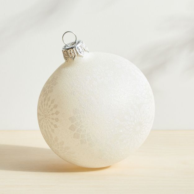 Clear Nordic Ornament - Image 1 of 1
