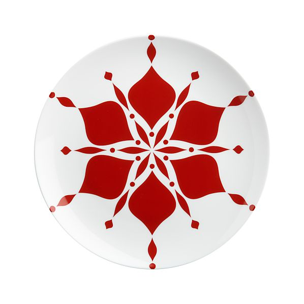 "Nordic Snowflake 10.75"" Plate"