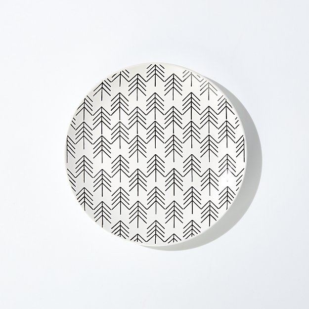 Nordic Tree Salad Plate - Image 1 of 6