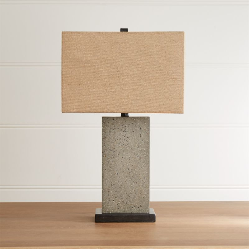 Norris concrete table lamp