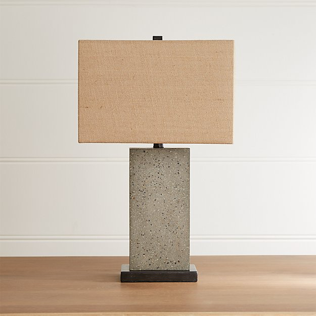 Norris Concrete Table Lamp - Image 1 of 7