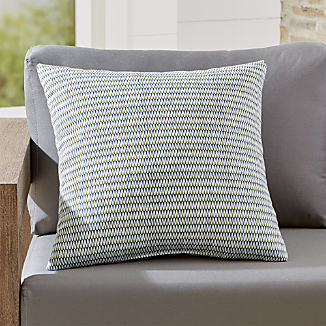 """Notch 20"""" Sq. Outdoor Pillow"""