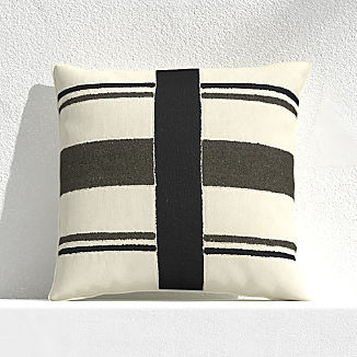 "Mohave Narrow Stripe 20"" Outdoor Pillow"