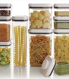 OXO 10-Piece Pop Top Containers