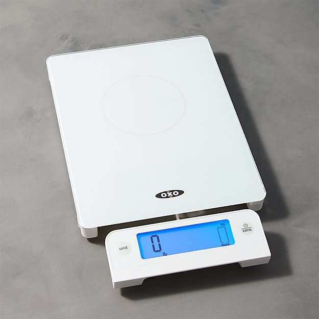 OXO ® 11-lb. Glass Food Scale