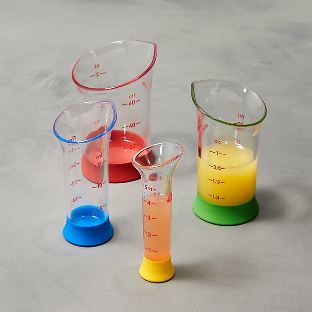 OXO ® 4-Piece Mini Measure Beaker Set - Image 1 of 4