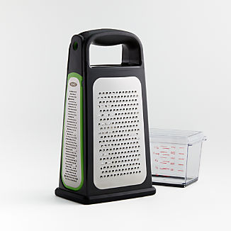 OXO ® Box Grater with Removable Zester