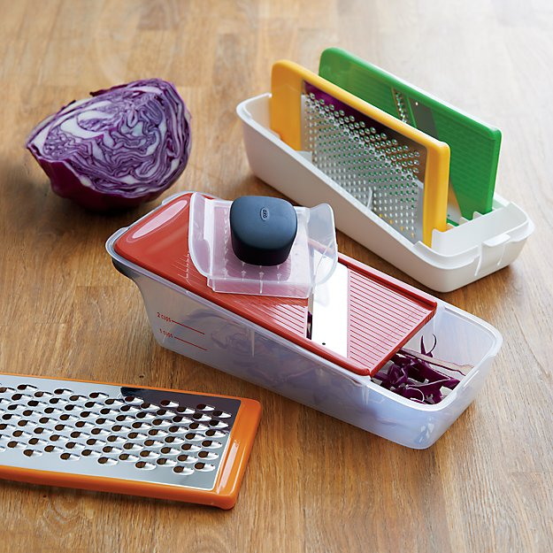 Oxo Grate And Slice Set Reviews Crate And Barrel