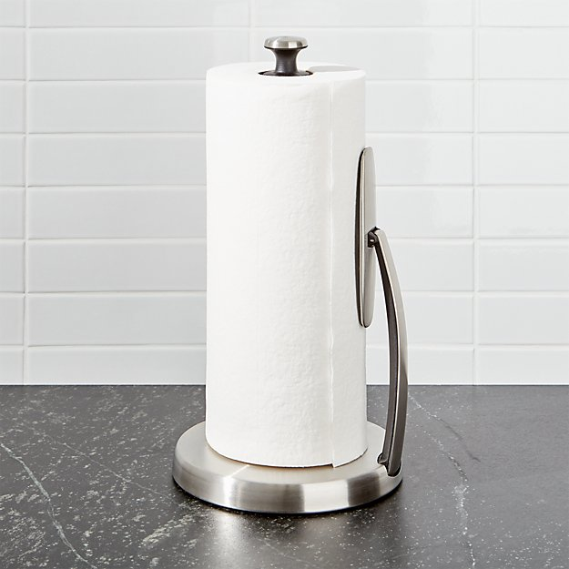Favorite OXO Spring Arm Paper Towel Holder + Reviews | Crate and Barrel ZY15