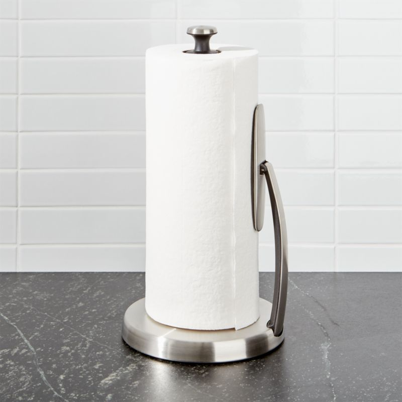OXO Spring Arm Paper Towel Holder Reviews Crate and Barrel