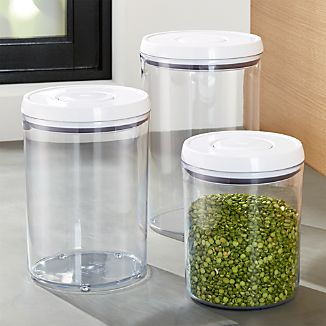 OXO ® Pop Round Containers with Lids, Set of 3