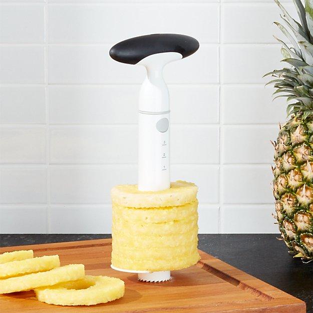 OXO ® Ratcheting Pineapple Slicer/Corer