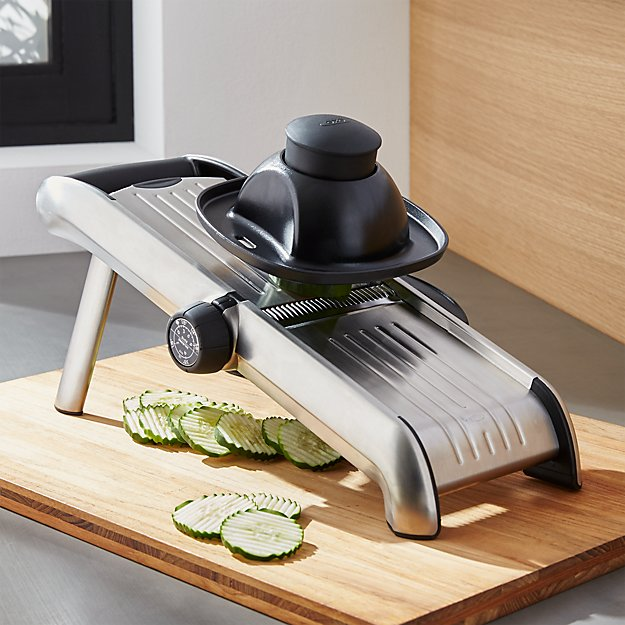 Oxo Stainless Steel Mandoline Reviews Crate And Barrel