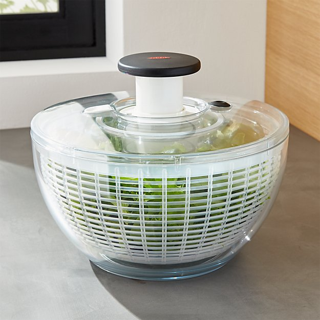 Oxo 174 Large Salad Spinner Crate And Barrel