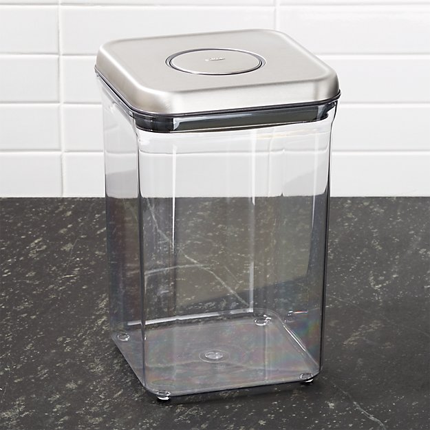 Oxo Steel Pop 4 Qt Container Reviews Crate And Barrel