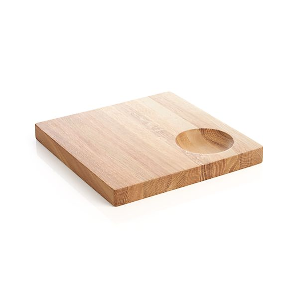 Oak Board with Dipper