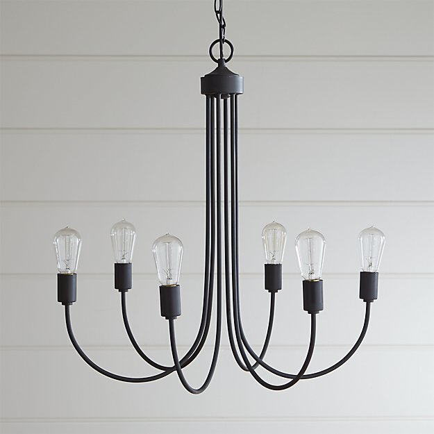 Oakton bronze chandelier reviews crate and barrel aloadofball Gallery