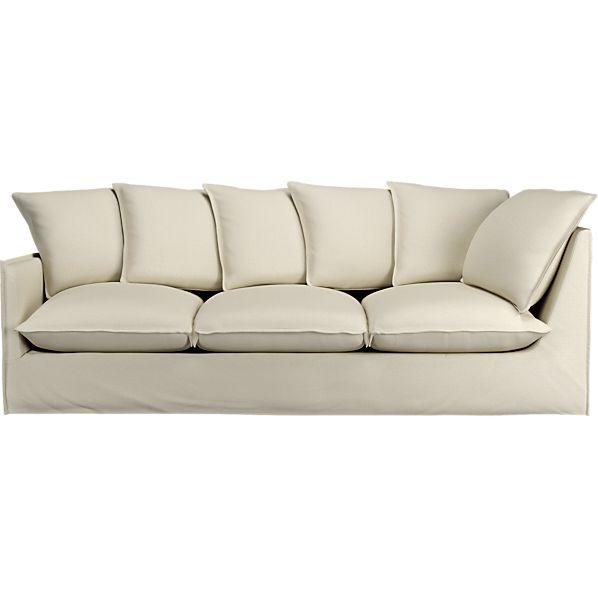 "Oasis 98"" Left Arm Corner Sectional Sofa"
