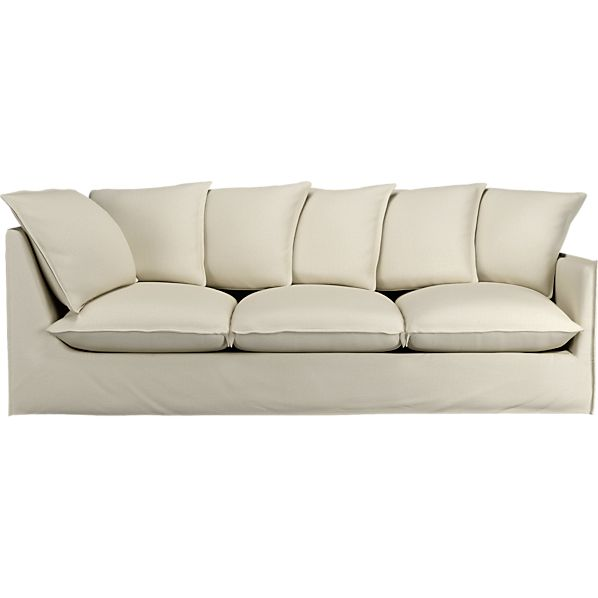 """Oasis 98"""" Right Arm Corner Sectional Sofa"""