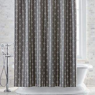 Grey Shower Curtains