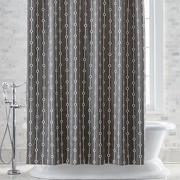 Wine colored shower curtain home design plan for Household design 135 curtain road