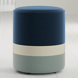 Oden Round Upholstered Stool