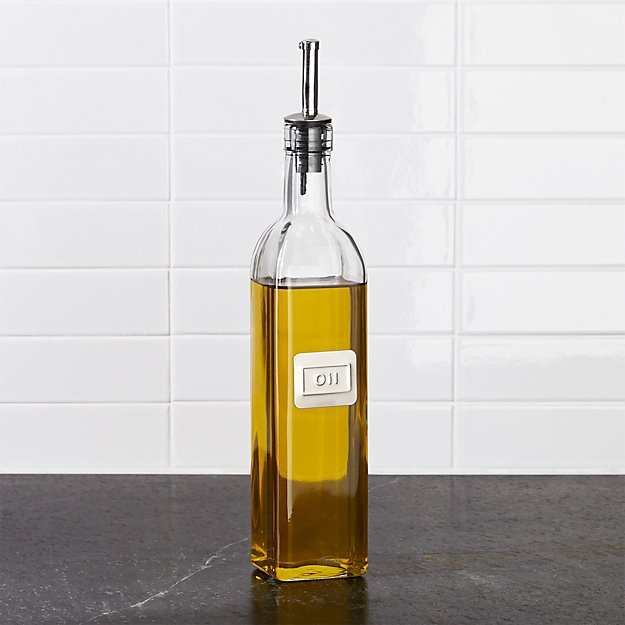 Ideal Oil Bottle + Reviews | Crate and Barrel CB03