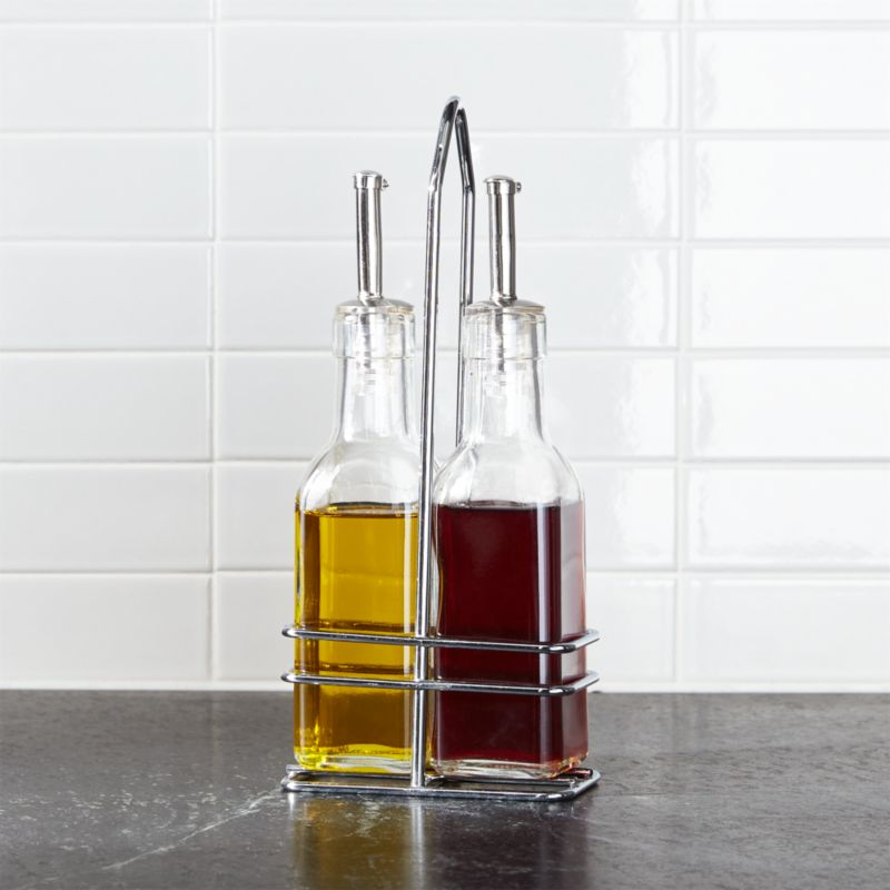 2 Piece Oil Amp Vinegar Cruet Set Reviews Crate And Barrel
