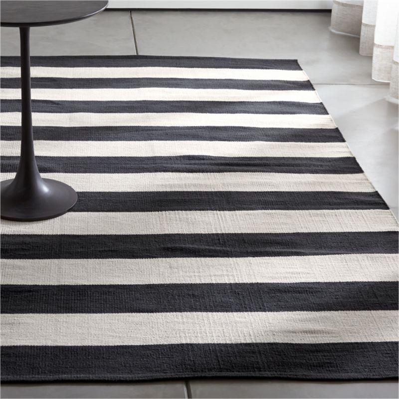 elegance the monochrome white in striped black room under living and furniture rug rugs