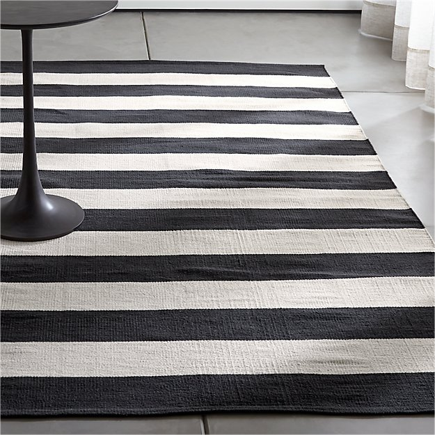 product and pattern rug rugs by modern white stripes girlyroad black monochrome